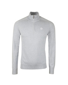 Henri Lloyd Mens Blue Miller Regular Half Zip Knit