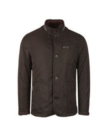 Ted Baker Mens Black Romeo Wadded Jacket