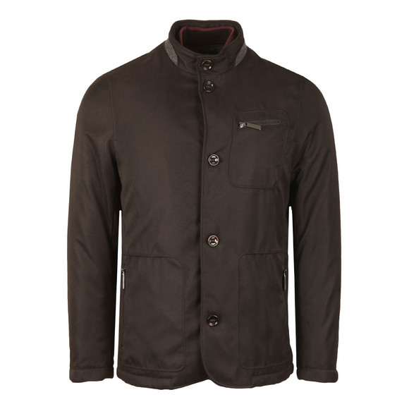 Ted Baker Mens Black Romeo Wadded Jacket main image