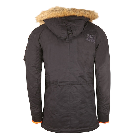 Superdry Mens Blue SD-3 Parka main image