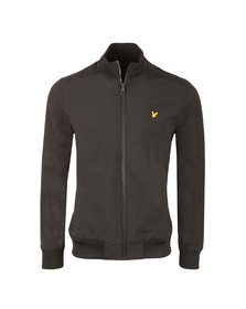 Lyle and Scott Mens Black Funnel Neck Soft Shell Jacket