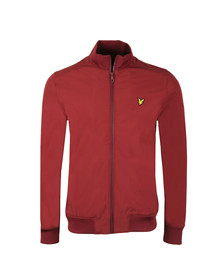 Lyle and Scott Mens Red Funnel Neck Soft Shell Jacket