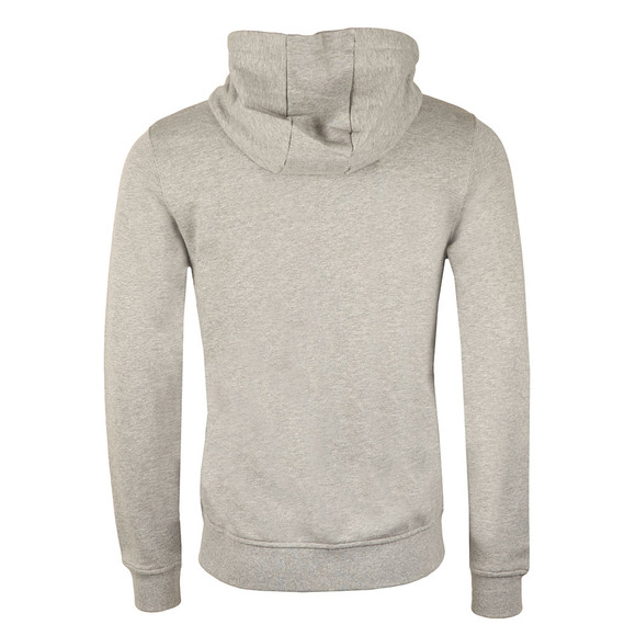 Lyle and Scott Mens Grey Full Zip Hooded Sweat main image