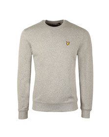 Lyle and Scott Mens Grey Crew Neck Sweatshirt