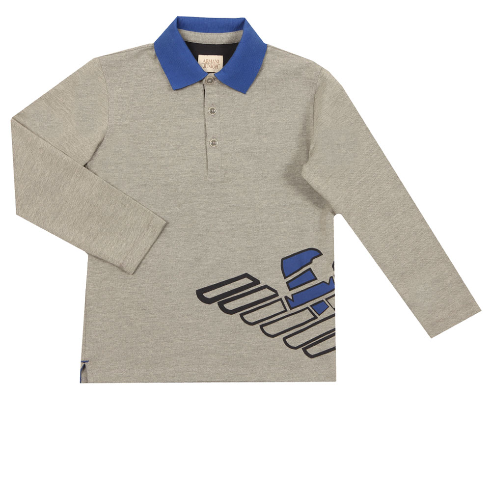 6Y4F08 Long Sleeve Polo Shirt main image