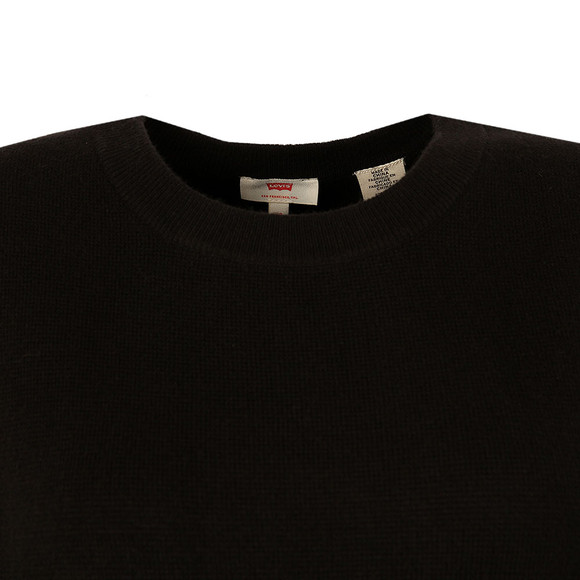 Levi's Womens Black Sporty Sweater main image