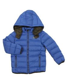 Armani Junior  Boys Blue Boys Down Jacket