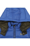 Armani Junior  Boys Blue Boys Down Jacket