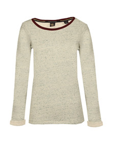 Maison Scotch Womens Grey Basic Sweat