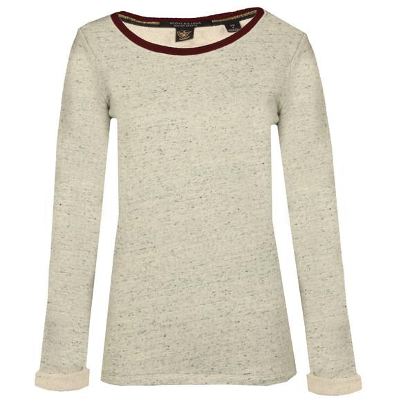 Maison Scotch Womens Grey Basic Sweat main image