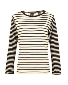 Maison Scotch Womens Off-white Basic Sweat