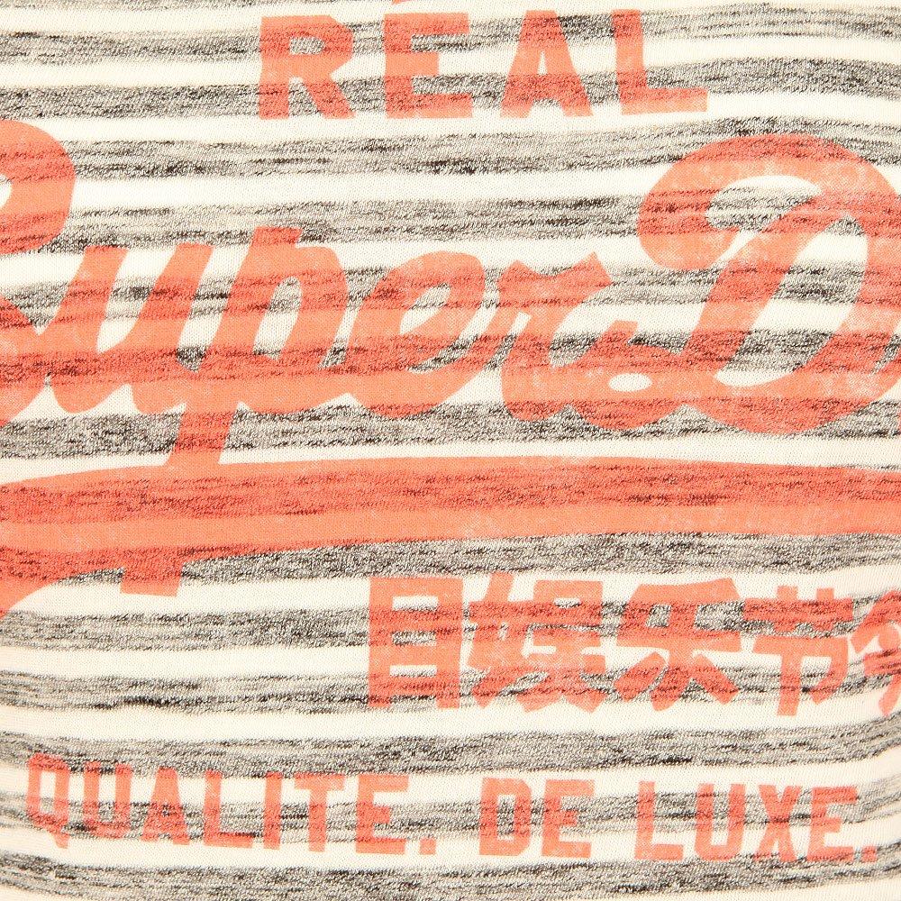 Vintage Logo Stripe Entry Tee main image