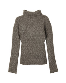 French Connection Womens Grey ADA RSVP LS Roll Neck Jumper