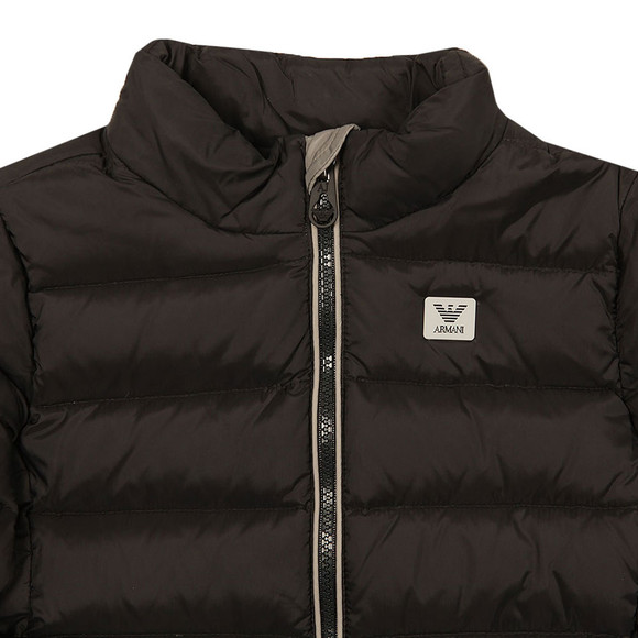 Armani Junior  Boys Black 6Y4B02 Down Jacket  main image