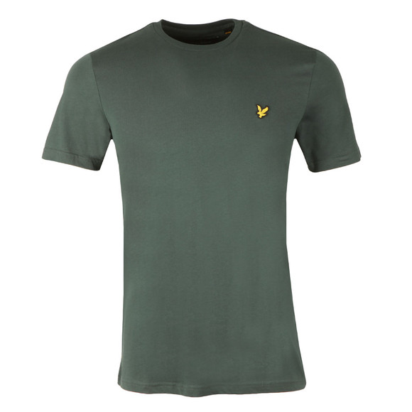 Lyle and Scott Mens Green S/S T-Shirt main image