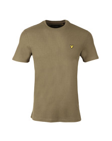 Lyle and Scott Mens Green Honeycomb T-Shirt