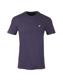 Lyle and Scott Mens Blue Honeycomb T-Shirt