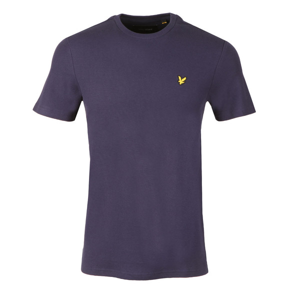 Lyle and Scott Mens Blue Honeycomb T-Shirt main image