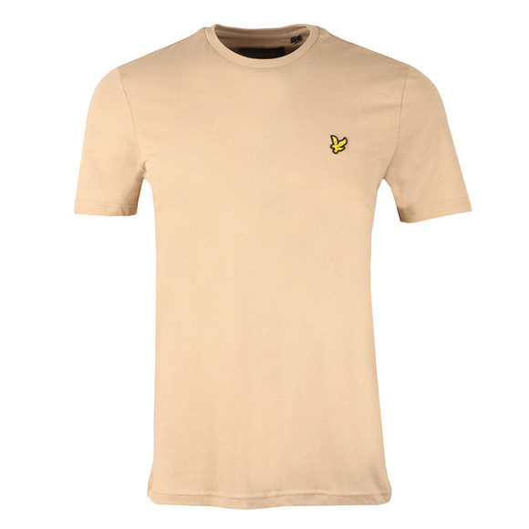 Lyle and Scott Mens Grey S/S T-Shirt main image