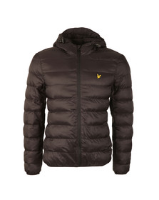 Lyle and Scott Mens Black Lightweight Puffer Jacket