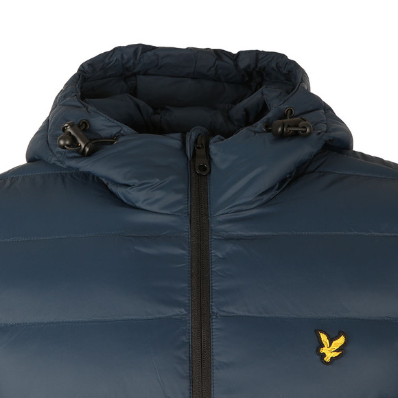 Lyle and Scott Mens Blue Lightweight Puffer Jacket main image