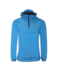 Lyle and Scott Mens Blue Pull Over Anorak