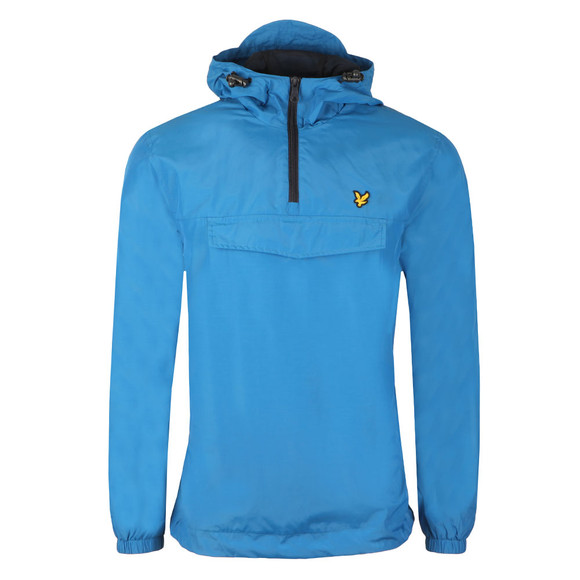 Lyle and Scott Mens Blue Pull Over Anorak main image