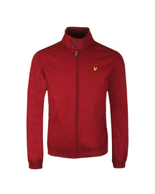 Lyle and Scott Mens Red Harrington Jacket