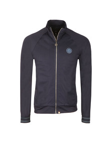 Pretty Green Mens Blue Zip Through Track Top