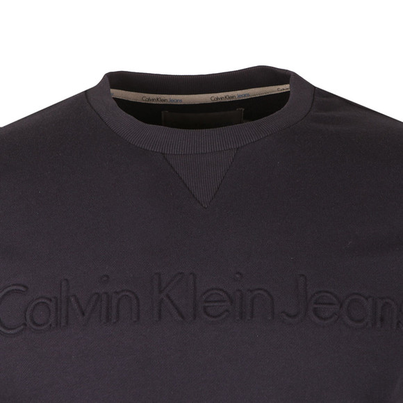 Calvin Klein Mens Blue Haero L/S Sweat main image