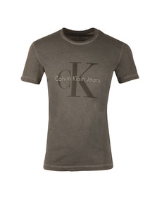 Calvin Klein Jeans Mens Black S/S Distressed T-Shirt