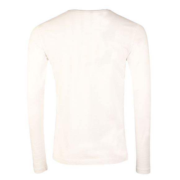Calvin Klein Jeans Mens White L/S Treasure Tee main image