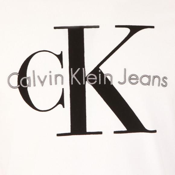 Calvin Klein Jeans Mens White L/S Tributo Tee main image