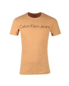 Calvin Klein Mens Brown S/S Treasure Tee