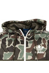 Adidas Originals Mens Green Camo Rev Windbreaker