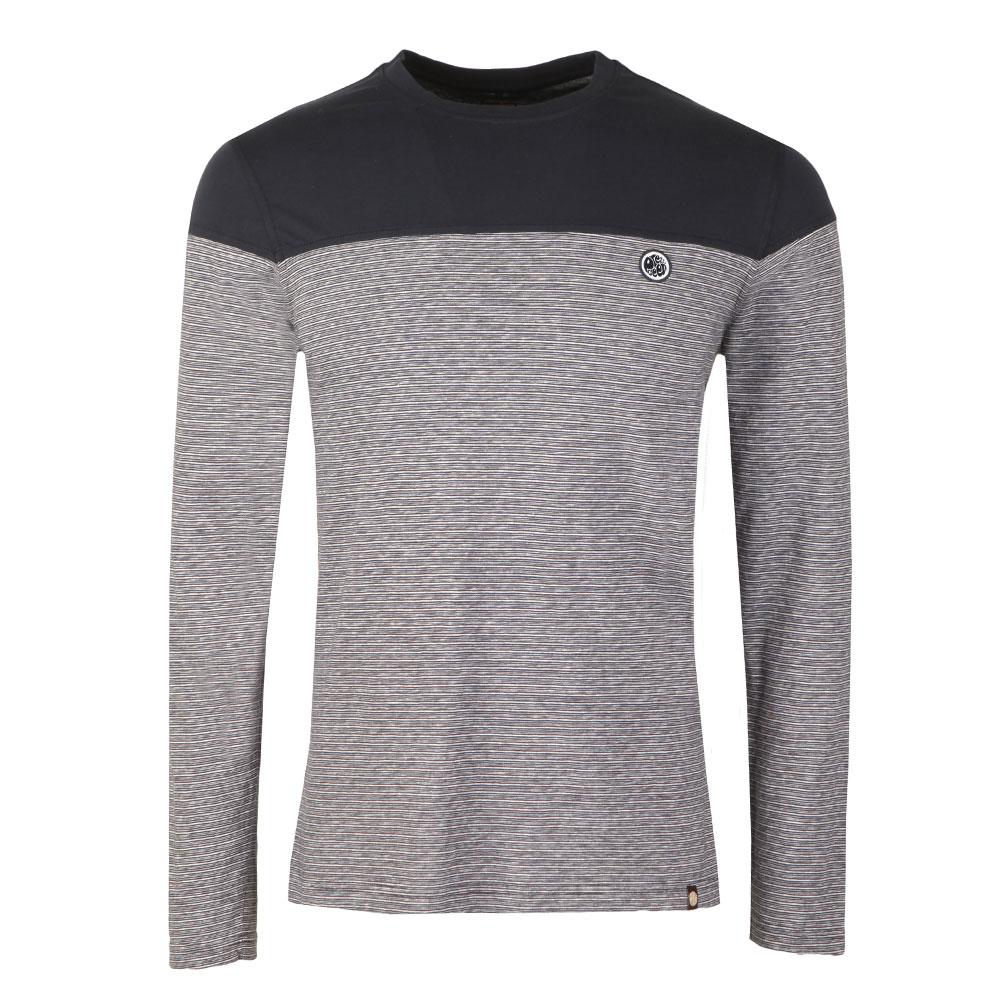 LS Stripe Panel T-Shirt main image