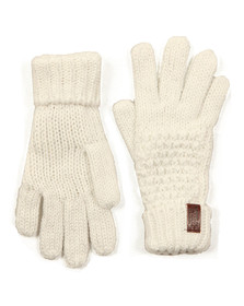 Superdry Womens Off-white Nebraska Glove