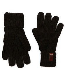 Superdry Womens Black Nebraska Glove