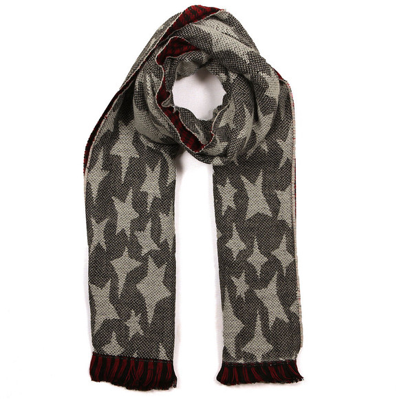 Maison Scotch Womens Red Double Sided Scarf main image