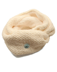Superdry Womens Off-white Clarrie Snood