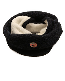 Superdry Womens Blue Clarrie Snood