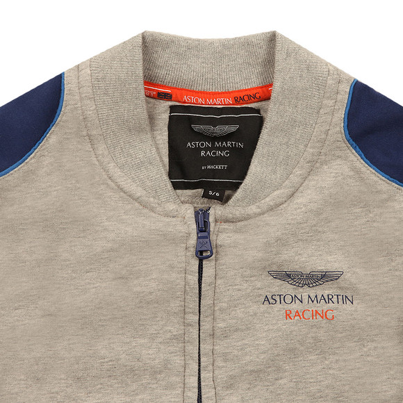 Hackett Boys Grey Boys AMR Full Zip Sweat  main image