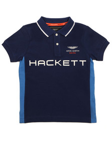 Hackett Boys Blue Boys AMR HKT PN Polo Shirt
