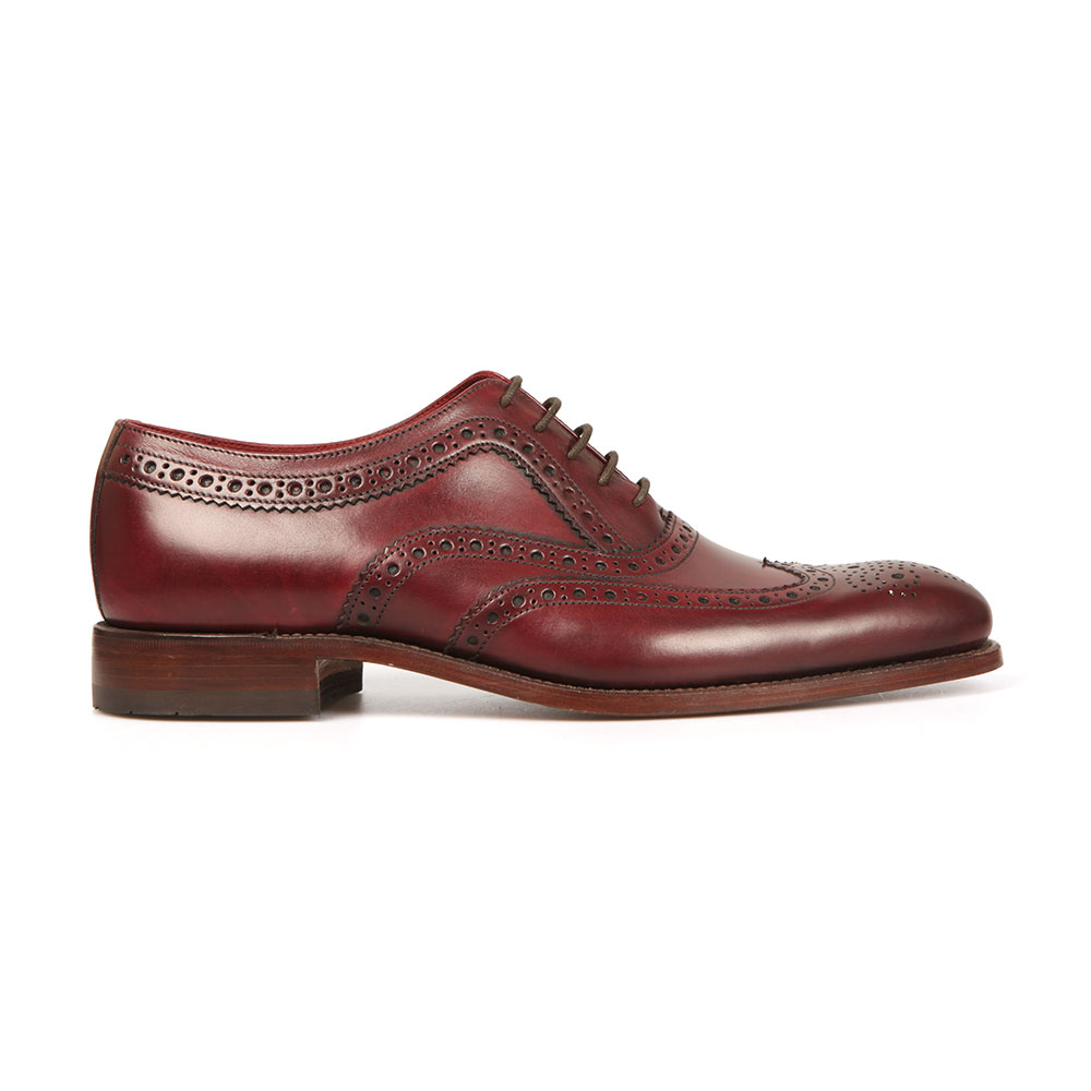 Fearnley Calf Brogue Shoe