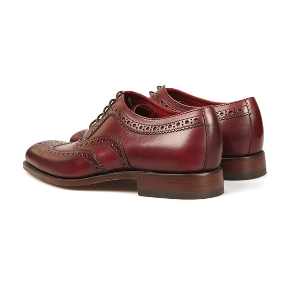 Loake Mens Red Fearnley Calf Brogue Shoe main image