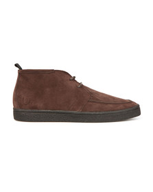 Fred Perry Mens Brown Shields Mid Boot