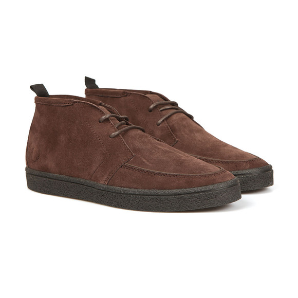 Fred Perry Mens Brown Shields Mid Boot main image