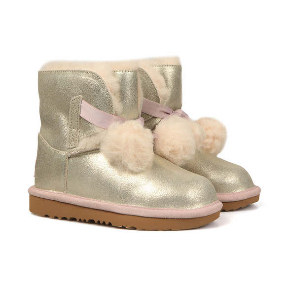 Ugg Girls Gold Gita Metallic Boot main image