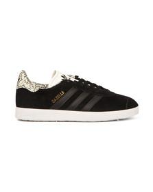 Adidas Originals Womens Black/black/white Gazelle OG W Trainer