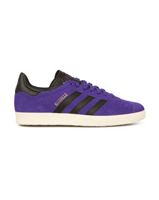 Adidas Originals Womens Purple Gazelle OG W Trainer